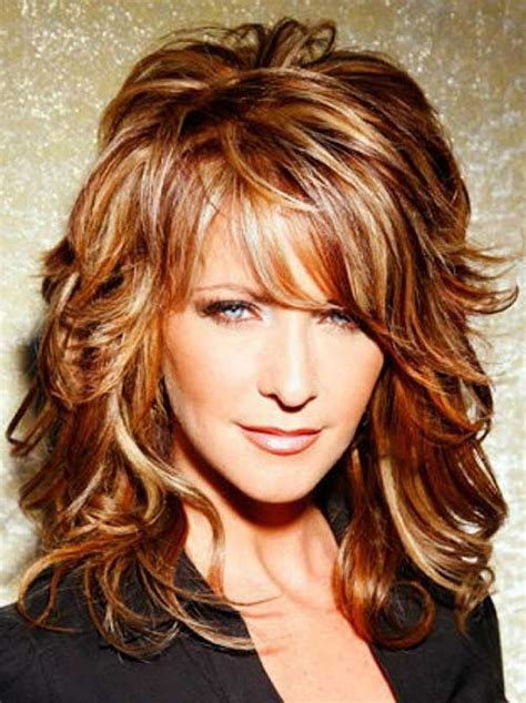 haircuts with bangs for long hair over 50 narrow chin 15 hairstyles for over 50s long hairstyles 2016 2017