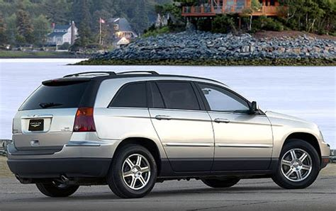 2007 Chrysler Pacifica Tire Size by 2007 Chrysler Pacifica Ground Clearance Specs View