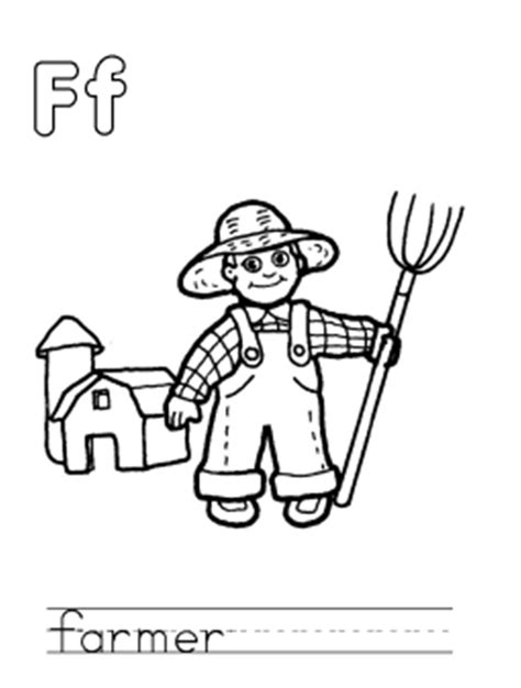 farmer coloring pages farmer coloring page coloring home