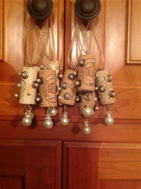 wine cork ornaments printable instructions wine cork ornaments wine cork ideas pinterest
