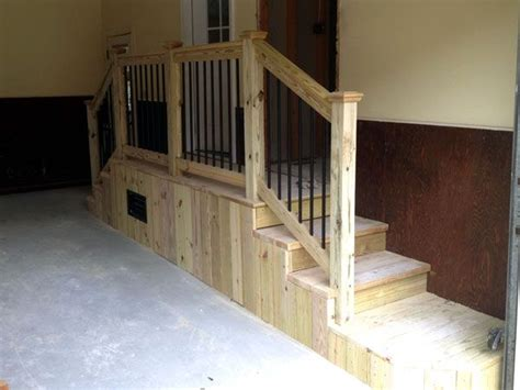 stairs design garage garage stairs with landing bing images house ideas