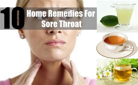 10 home remedies for sore throat how to treat sore