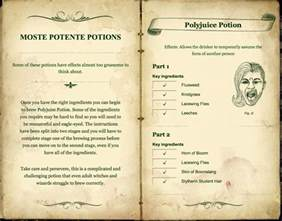 Powder Room Book - moste potente potions pottermore wiki fandom powered by wikia
