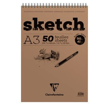 a3 sketchbook derwent sketch pads arts clairefontaine paper
