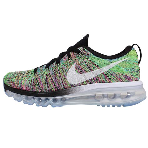 nike flyknit air max running shoes wmns nike flyknit max rainbow multi color womens running