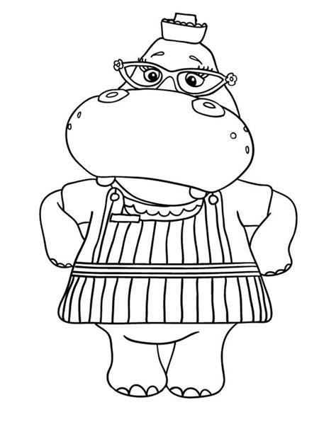 doc mcstuffins characters coloring pages hallie from doc mcstuffins coloring page netart
