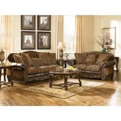 Livingroom Sets Fresco Durablend Antique Living Room Set Signature