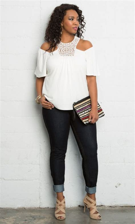 flattering styles for full figure older women 1000 images about fatshionistas plus size style on