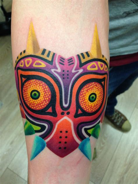 majora s mask tattoo majora s mask by luis avil 233 s cnx berlin ger