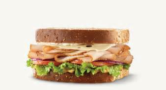 arby s roast turkey swiss sandwich