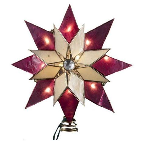 christmas tree star topper capiz star christmas tree pin by kathy mckinney on christmas food and fun pinterest
