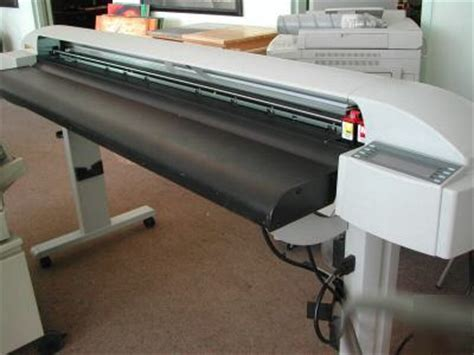 Printer Novajet 750 encad novajet 750 wide format inkjet plotter used
