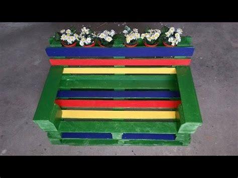 costruire una panchina come costruire una panchina con due bancali tutorial