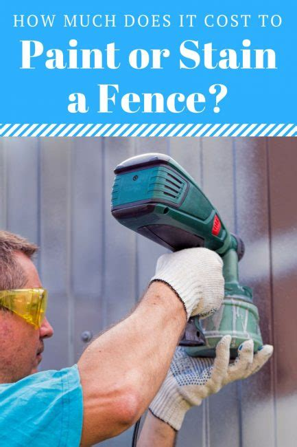 How Much Does it Cost to Paint or Stain a Fence in 2018