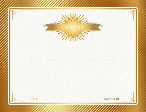 gold certificate template gold certificate template clip gallery yopriceville