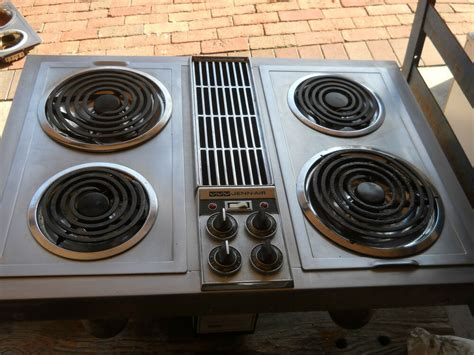 jenn air downdraft cooktop jenn air c221 downdraft stainless with grill unit ebay