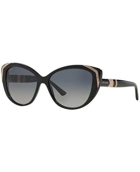 Kacamata Sungglas Bvlgari 1891 Set lyst bvlgari sunglasses bv8151bm black polar grey grad in black