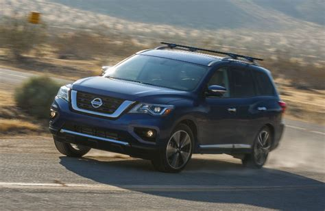 towing capacity for nissan pathfinder how much weight can the 2017 nissan pathfinder tow