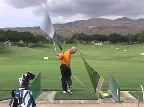 golf swing push or pull a perfect golf swing pivot action deep hip turn and