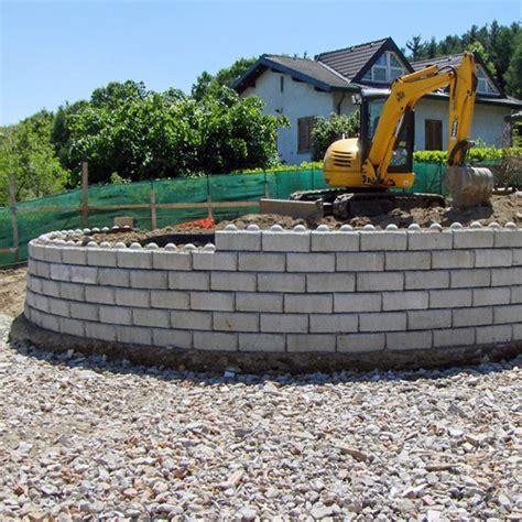 muro contenimento giardino muro di contenimento mini rock calubini