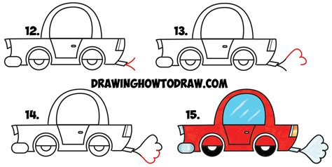 car drawings step ankaperla