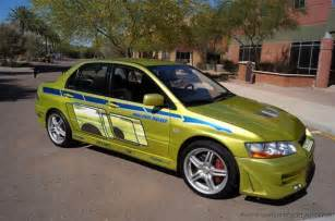 Fast Furious Mitsubishi Lancer Mitsubishi Evo Vii In Quot 2 Fast 2 Furious Quot For Sale On Ebay