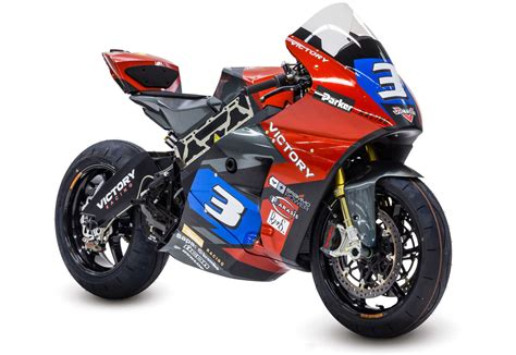 Elektro Rennmotorrad by With Victory Already Racing Two Distinctly Different Sport