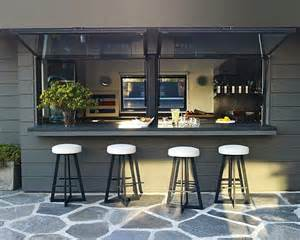 bar house 8 cool ideas to turn up the style heat in your kitchen window bar and outdoors