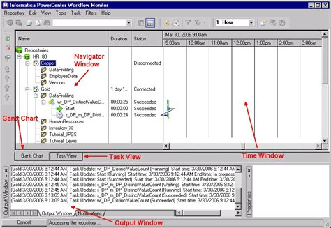 informatica workflow powercenter workflow monitor gerardnico