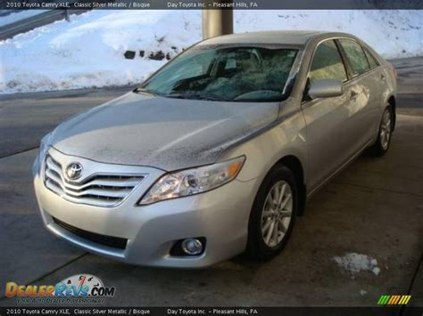 2010 Toyota Camry Xle 2010 Toyota Camry Xle Classic Silver Metallic Bisque