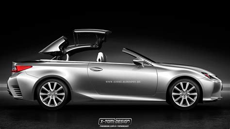 lexus rc convertible lexus rc cabrio rendered autoevolution
