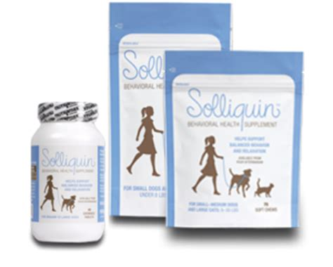 solliquin for dogs new help for behavior problems