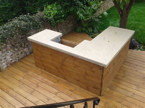 concrete bbq bench gardens garden buildings garden furniture benches