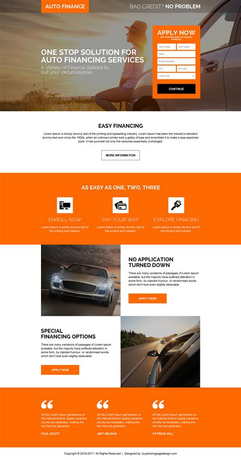 landing pages for your business success
