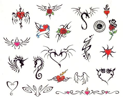 small tribal heart tattoos small tattoos for yahoo image search results