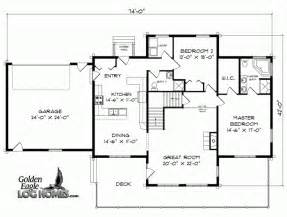Floor Plans For Log Homes Small Cabin Floor Plans View Source More Log Cabin Ii Floor Plan House Plans