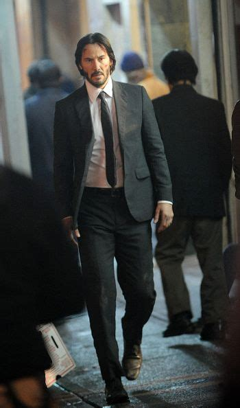 actor john wick actor keanu reeves on the set of john wick 2 on november