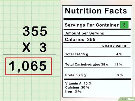 calcolare le calorie di un alimento come calcolare le calorie cibo 11 passaggi