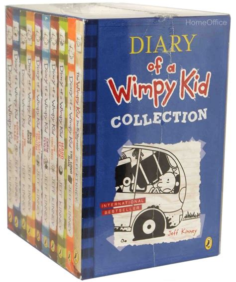 the author diary 2018 books diary of a wimpy kid collection 10 books set collection