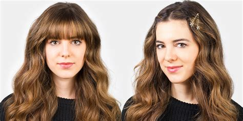 should fat people where bangs how to style bangs 5 hairstyles to keep your bangs out