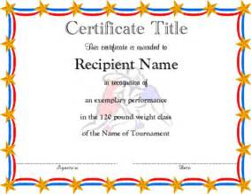 Free Editable Certificates Templates Free Editable Award Certificate Templates