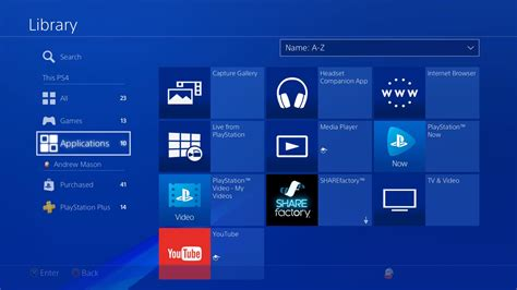 ps4 themes from usb ps4 firmware 5 50 new features include library ui updates