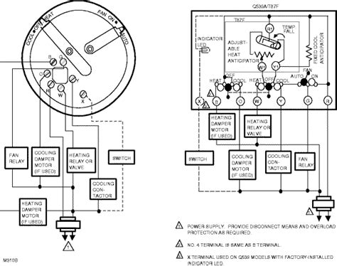 honeywell t87f thermostat wiring diagram wiring diagram