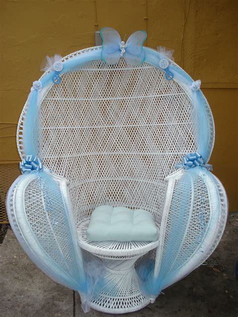 Diy Baby Shower Chair by Baby Shower Chair Rental