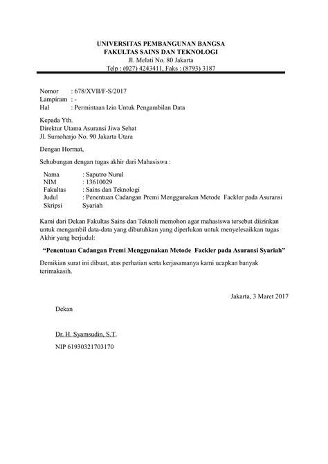 contoh surat pengantar berbagai keperluan dinas