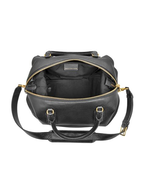 Marc Leather Purse by Lyst Marc By Marc New Q Legend Black Leather