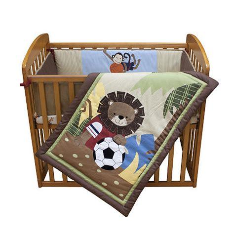 Exploring Creativity Baby Team Safari Team Safari Crib Bedding