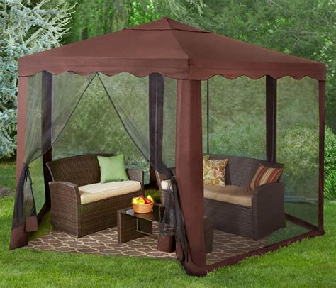 hexagon gazebo outdoor furniture patio yard party tent
