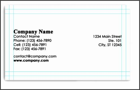 business card template letter size illustrator 8 business card size template illustrator