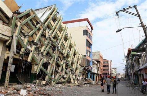 imagenes sorprendentes del terremoto en ecuador terremoto en ecuador provoca p 233 rdidas por tres mil